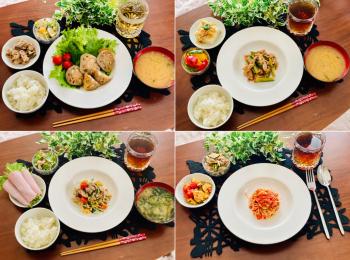 【今月のお家ごはん】アラサー女子の食卓!作り置きおかずでラク晩ご飯♡-Vol.16-