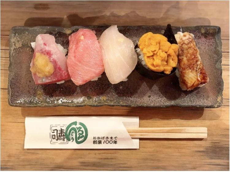 中央卸売市場の行列ができるお寿司屋さんで、朝カフェならぬ《朝寿司》してきました!_3