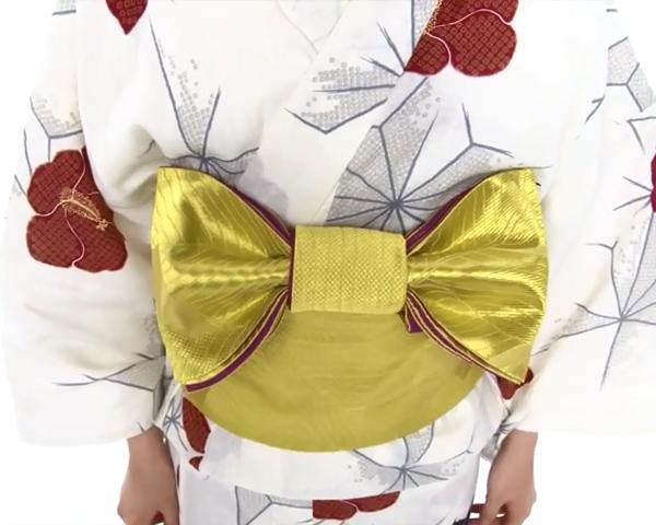 【わかりやすい動画付き】浴衣のセルフ着付け・帯の結び方 - 一人でできる! 女性の浴衣の着方は?_67