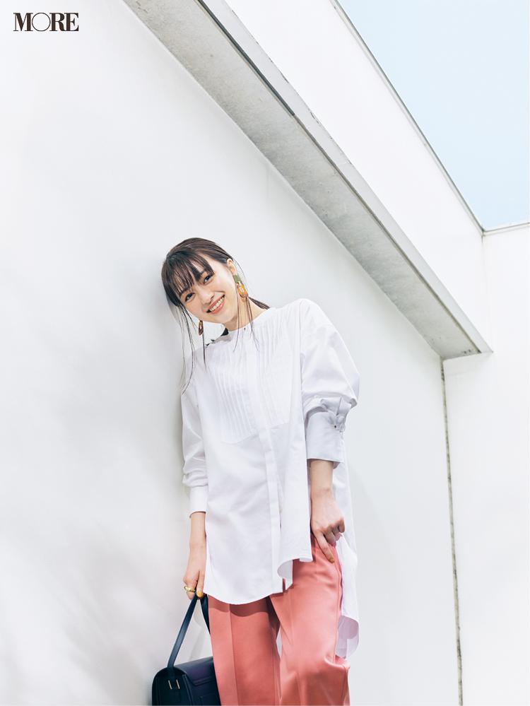 白いシャツが「気持ちを開放する」服No.1☆ コーデも気持ちも明るくしたいならこれを選ぶべし!_2