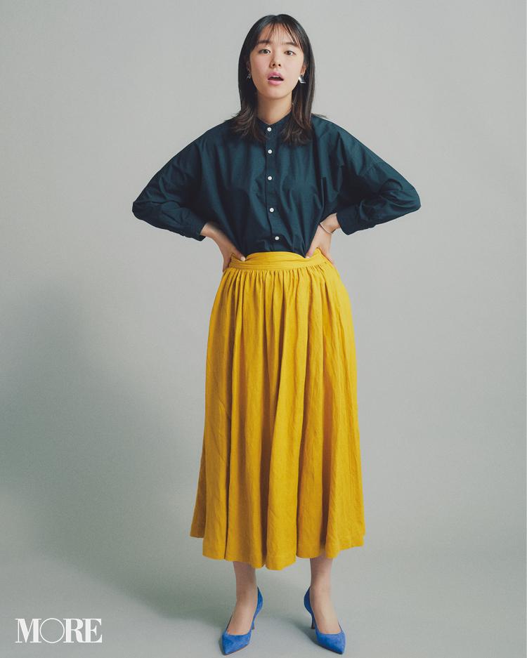 ロング丈スカート、正解バランス最新版! 今っぽくはくにはどうしたらいいの?_1_4