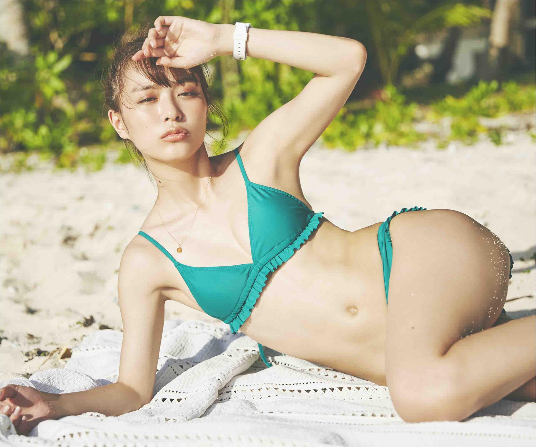 【内田理央ちゃんインタビュー】水着フォトブック撮影秘話から、プライベートの水着のお気に入りまで教えてあげる♡_1