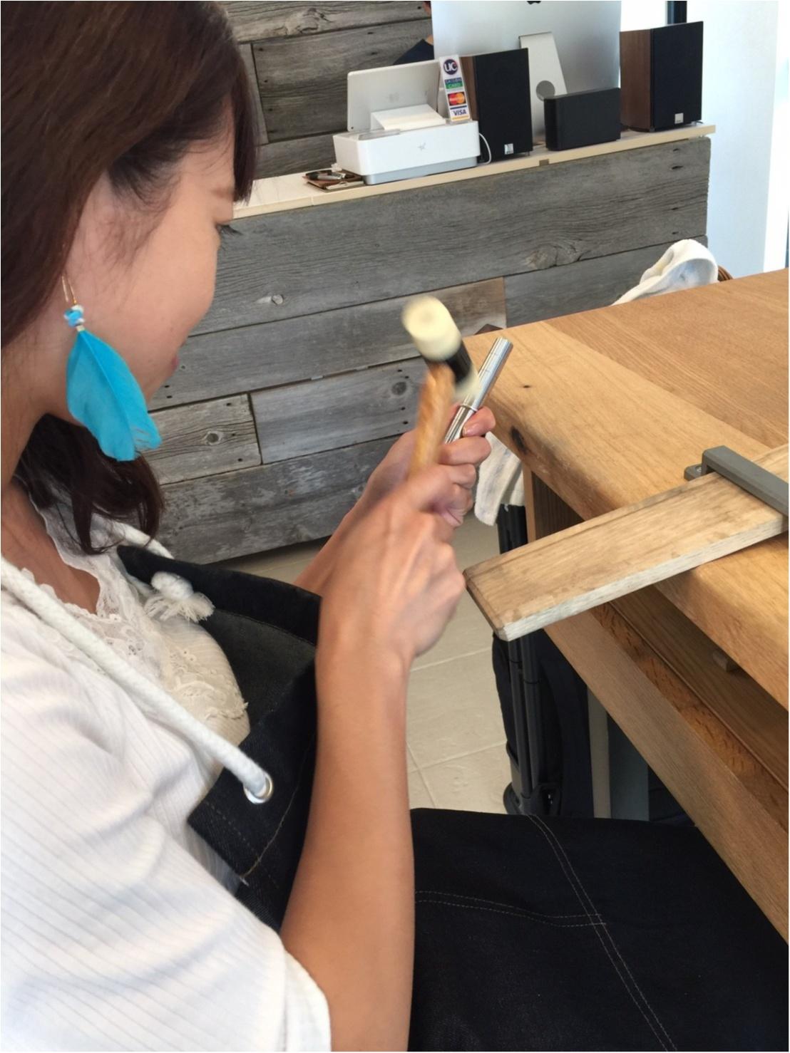 【プレ花嫁】世界に1つの手作りリング(  ˊᵕˋ  )彼と作ってきました!_12