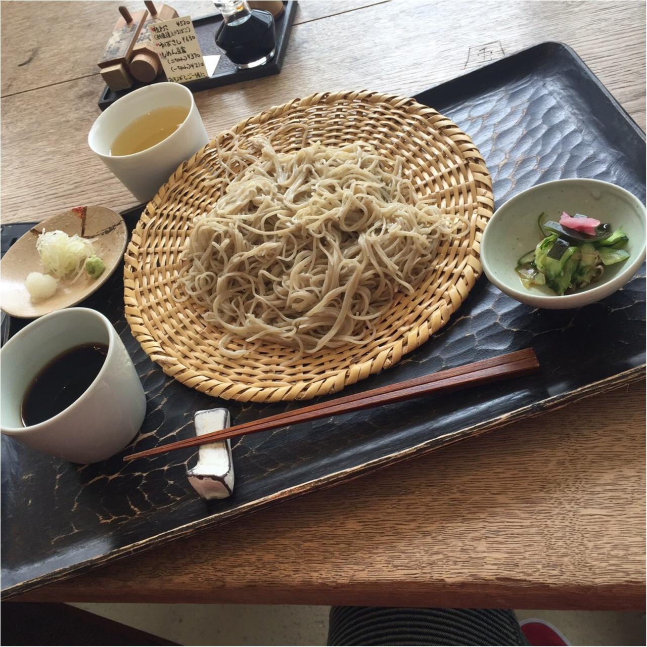 【箱根旅】箱根湯本駅から徒歩1分❤︎アートなお蕎麦屋さんで腹ごしらえ☺︎_4