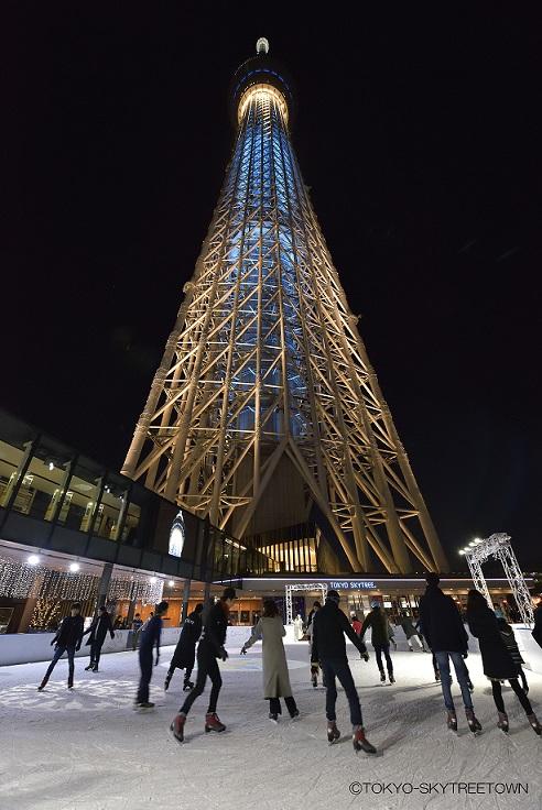 【応募終了】『東京スカイツリータウン(R)』アイススケートパーク2018 ペアチケットプレゼント__1