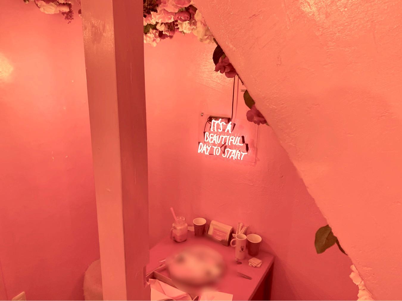 《本当に浅草?!》PINK×お花のかわいいカフェ発見♡_4