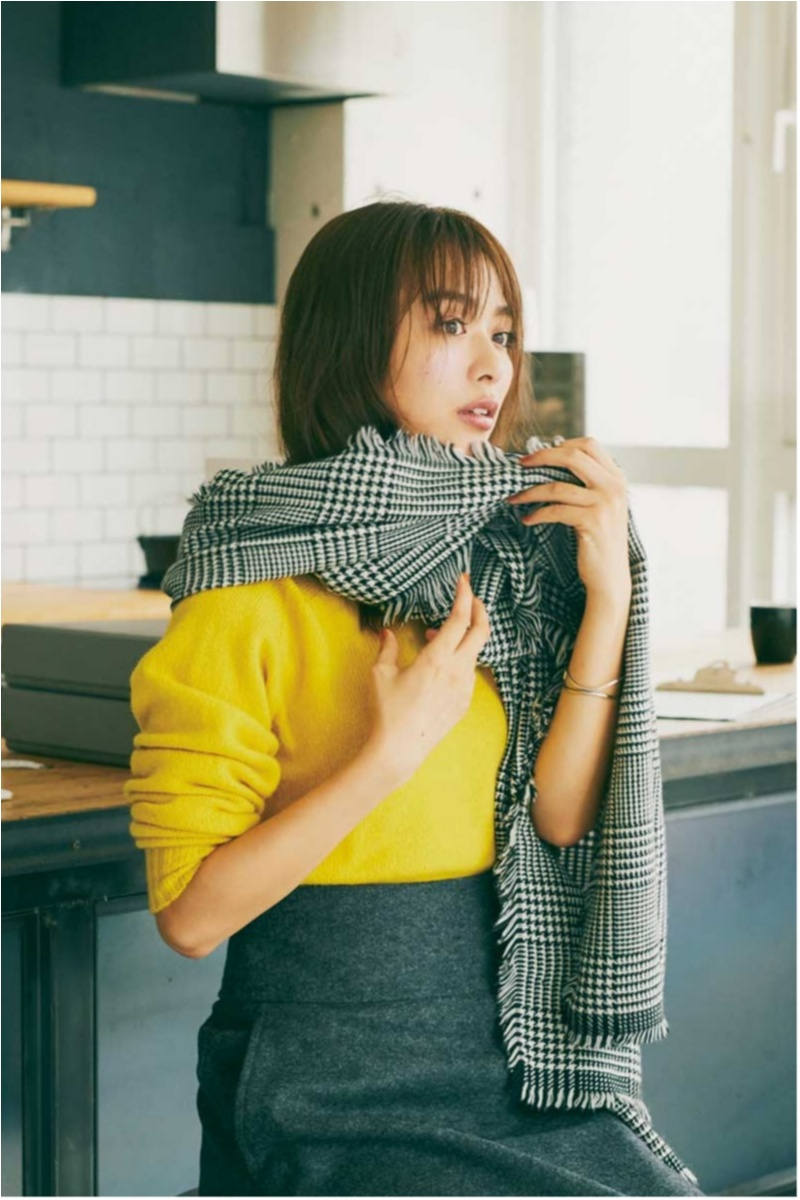 2018年秋のファッション ニット2