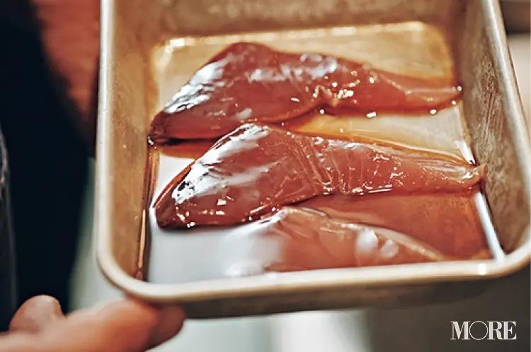 使う刺身は好みの魚介でOK