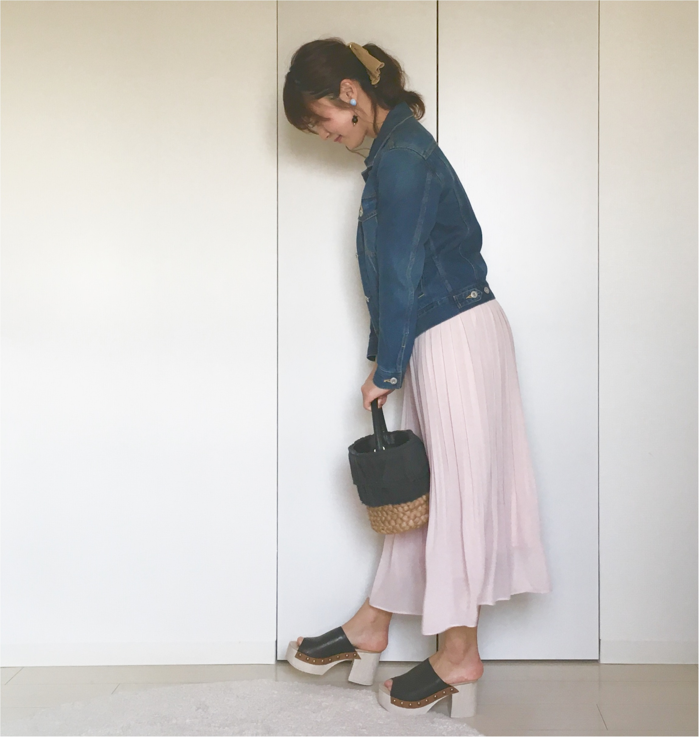 【ユニクロ】揺れ感が可愛すぎる❤️待ちに待った《春色スカート》は買うなら今がオススメ!_5