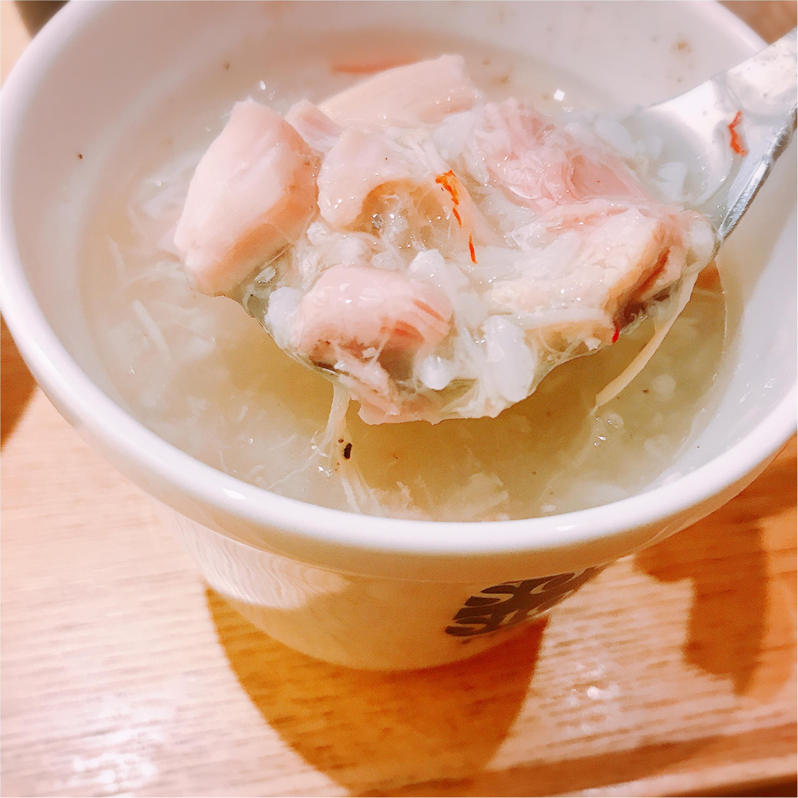 肌寒い日は《Soup Stock Tokyo》へ!新しくなった「参鶏湯(サンゲタン)」で温まろう♡_3
