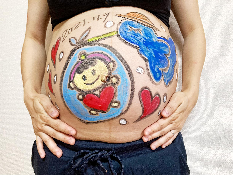 マタニティーアートで赤ちゃんをお迎え_1