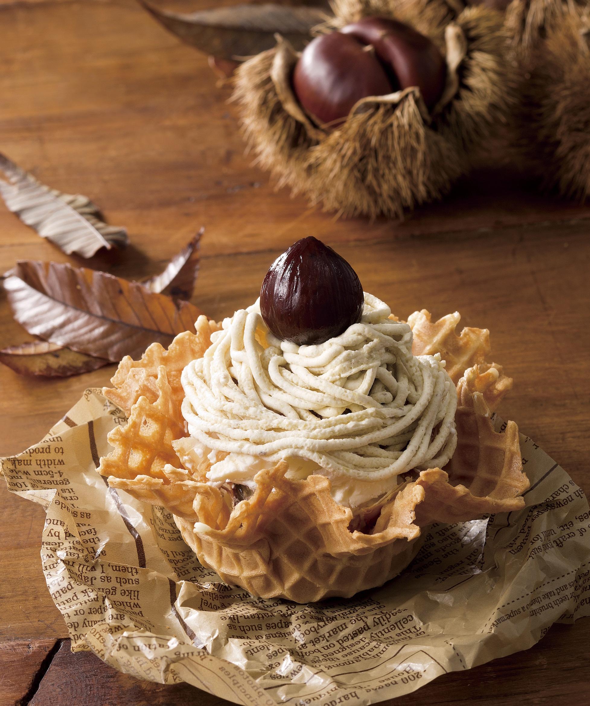 『コールド・ストーン・クリーマリー』のデコレーションアイスクリーム♡ モンブランとパンプキンパイどっちにする?_1