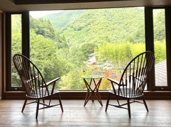 【香川県】自然に囲まれたセンス抜群の温泉旅館「阿讃琴南」