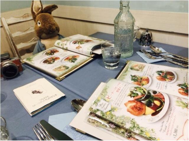 《絵本の世界でディナーを堪能★》イギリスのガーデンカフェで、ピーターラビットと一緒に食事が楽しめちゃいます♡♡_8
