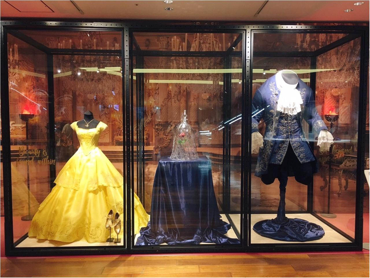 本物の衣装がついに来日!『美女と野獣』の世界展 at GINZA MITSUKOSHIに行ってきました♡_3