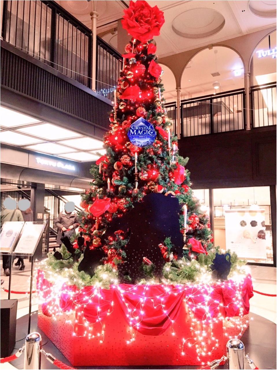 ディズニー映画『美女と野獣』がテーマの 『TOKYU PLAZA GINZA CHRISTMAS 2016』を写真たっぷりでご紹介しちゃいます♡_4