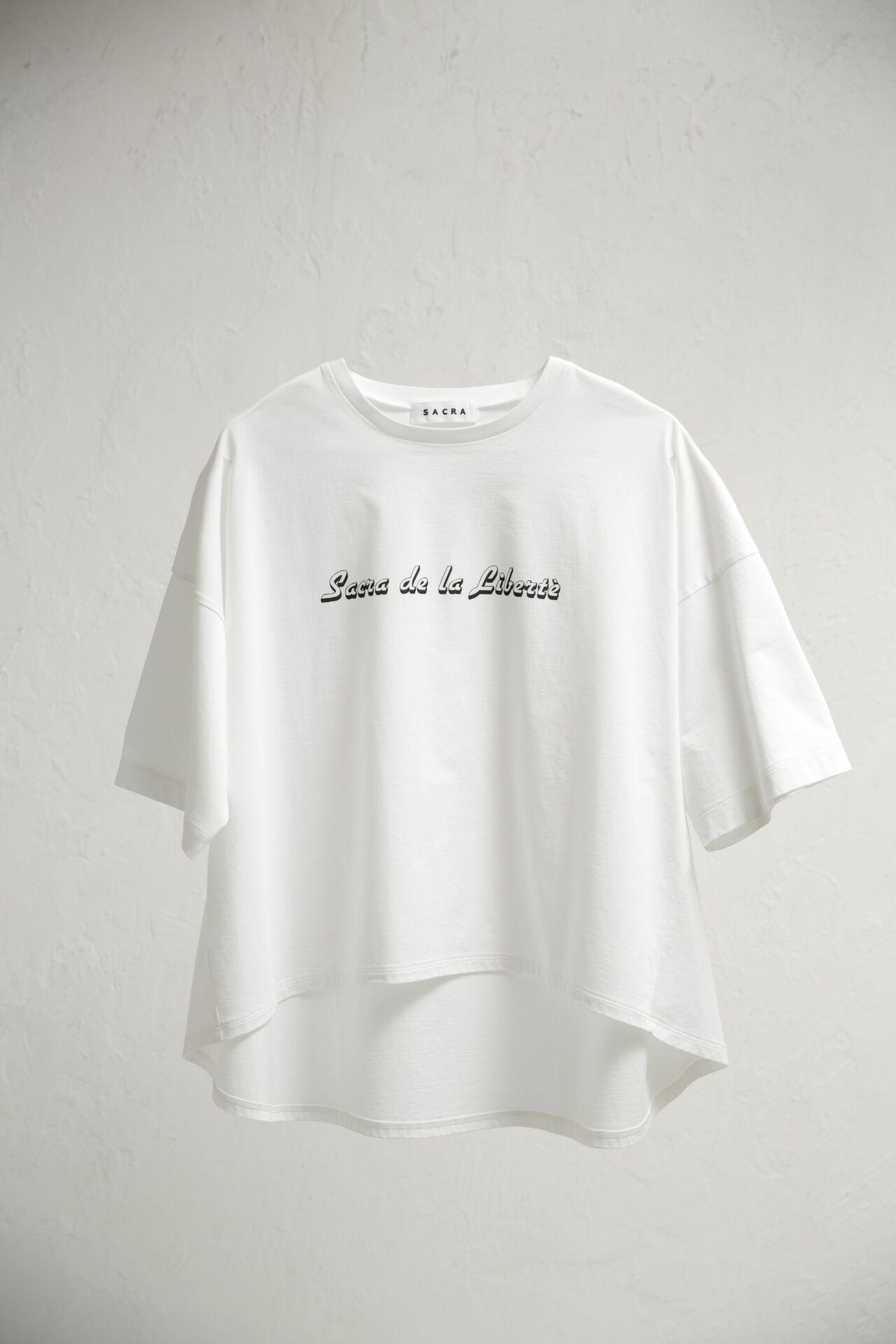 《Twitter フォロー&RTで応募》人気のレディースブランド『SACRA』のオリジナルロゴTシャツを2名様に♡__2