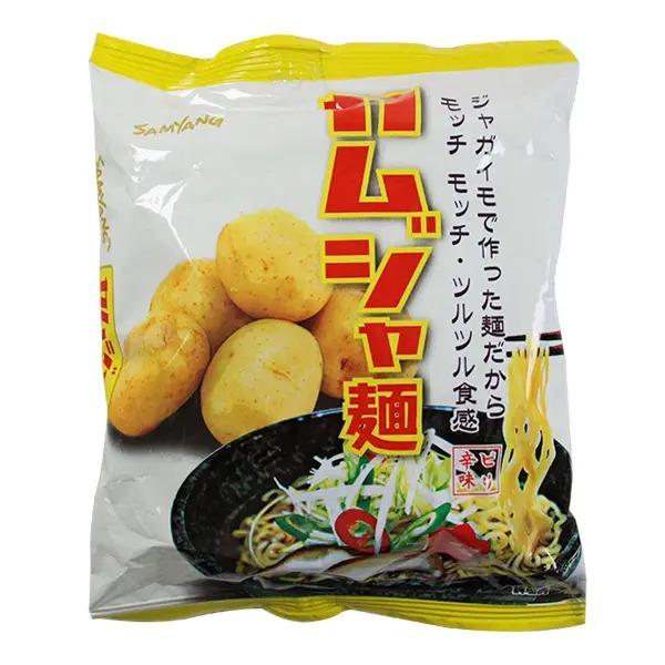《カルディ》おすすめのインスタントラーメン1.「三養 カムジャ麺(じゃが芋ラーメン)」