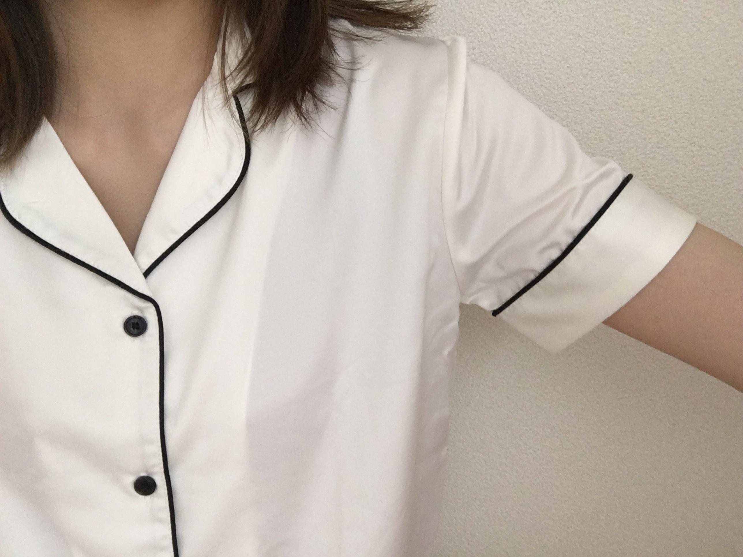 ★やっぱりパジャマは【GU】で!2490円でサテンの高見えパジャマはいかがですか??_2