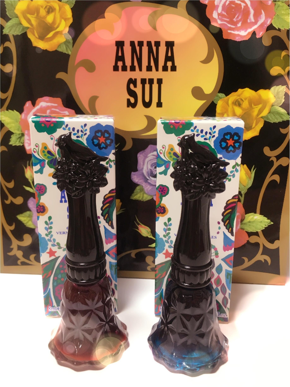 ANNA SUIの限定ネイルで旬なシロップネイルを楽しんで♡_1