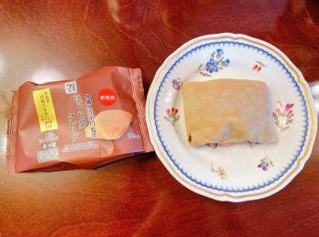 【セブン新作スイーツ】ほうじ茶クレープは大人の甘さの贅沢スイーツ♬