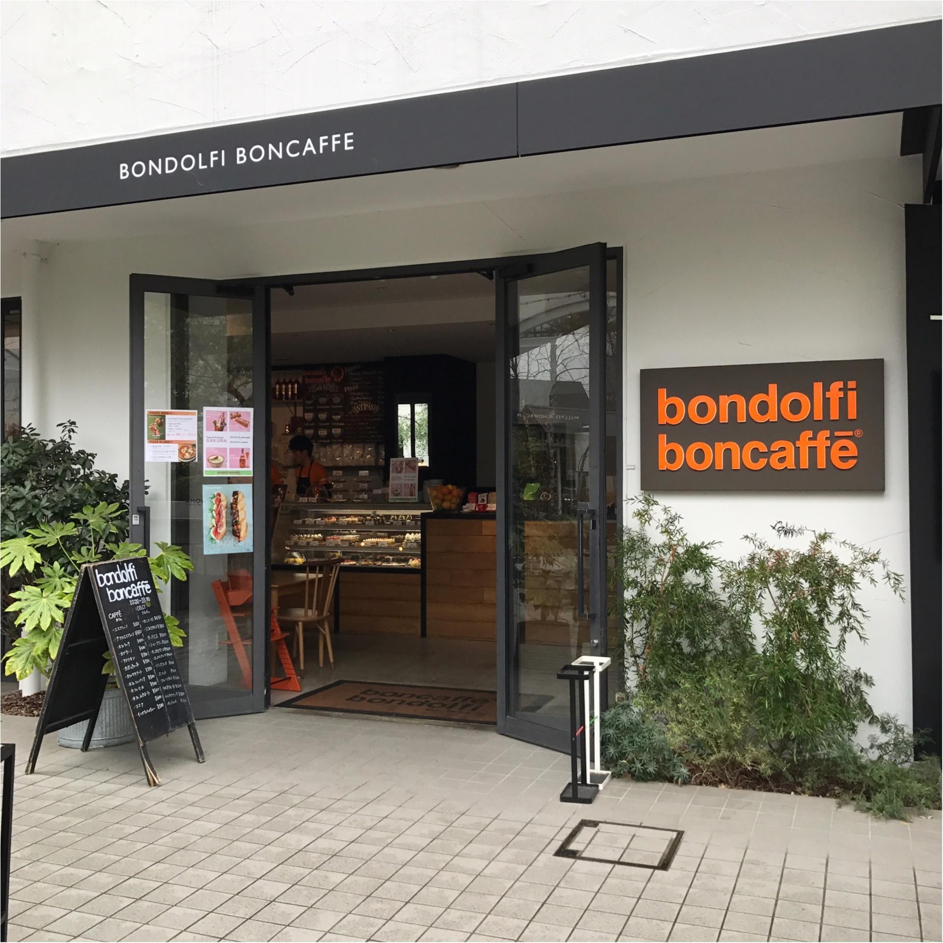 ★この時期オススメ、桜スイーツ♡ピンクな見た目がCUTEなソフトクリームは『bondolfi boncaffe』で楽しみましょう★_1