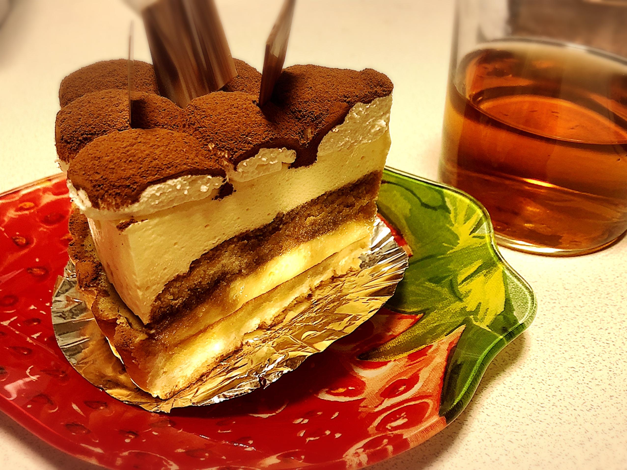 【静岡で美味しいケーキ屋さん♡】超美味ティラミスタルト〜( ´ ▽ ` )_4