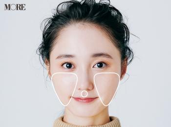長井かおりさん発・『オンリーミネラル』のチーク&『SHISEIDO』のリップで作る小顔メイクのやり方!【小顔メイク④】