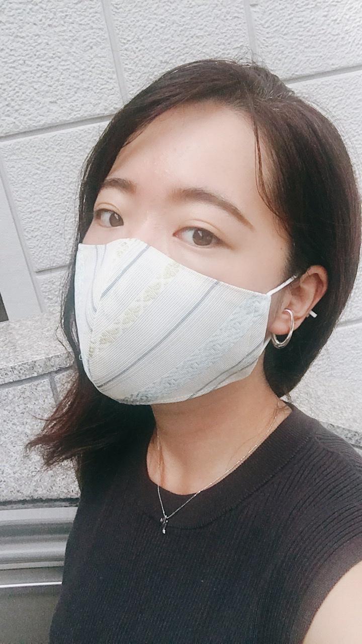 【マスク】GINZA SIXのTSUTAYAで購入♪《博多織マスク》で上品&快適に_2