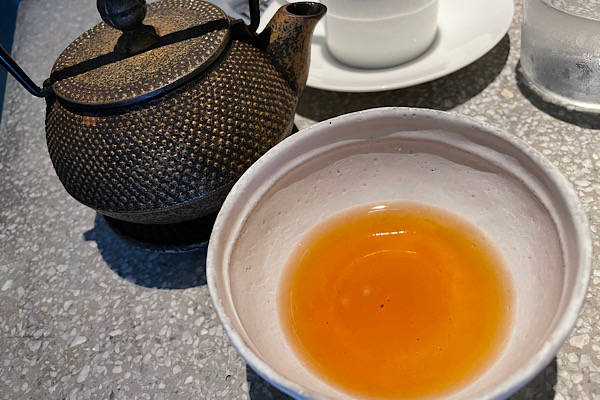 カカオハスクの日本茶