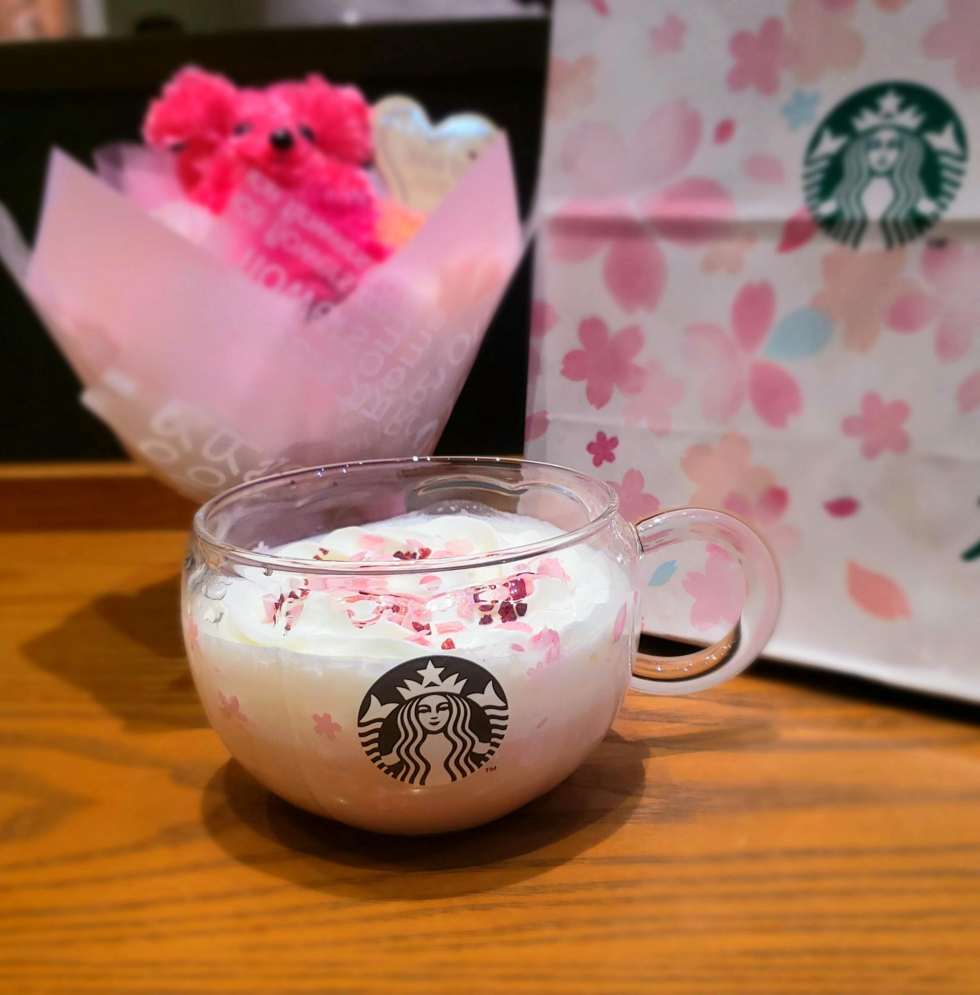 【スタバ《さくら》】ドリンクもマグカップもコーヒーもピンクでかわいいを紹介♡_4