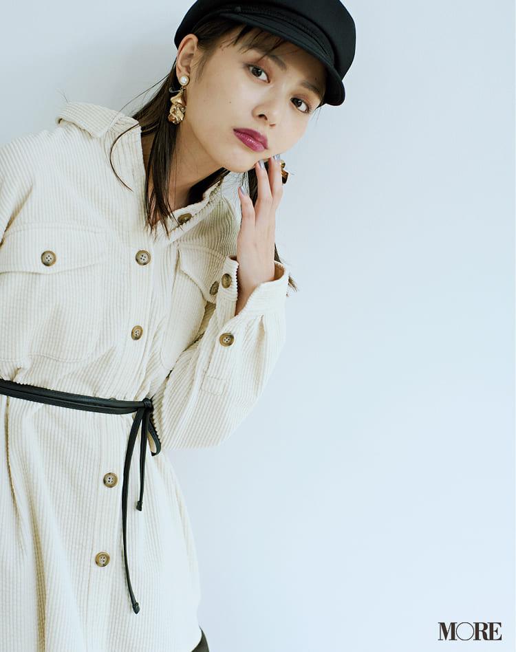 白ニットコーデ【2020冬〜春】- 着膨れしない細見えテクニックなど、白い服の最旬レディースコーディネートまとめ_3