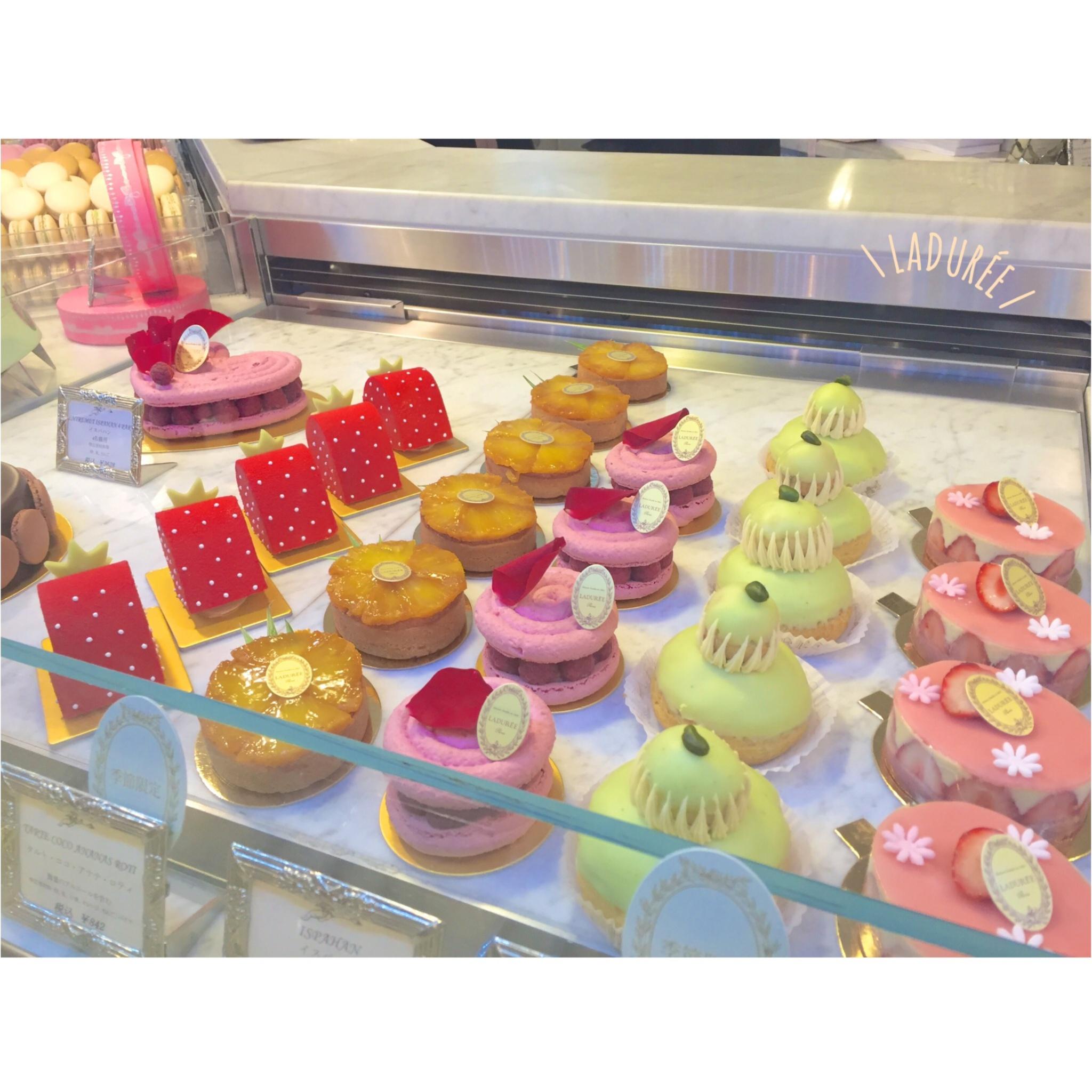 【FOOD】ときめきがとまらない♥!銀座「LADURÉE」でCafe Time⑅_1