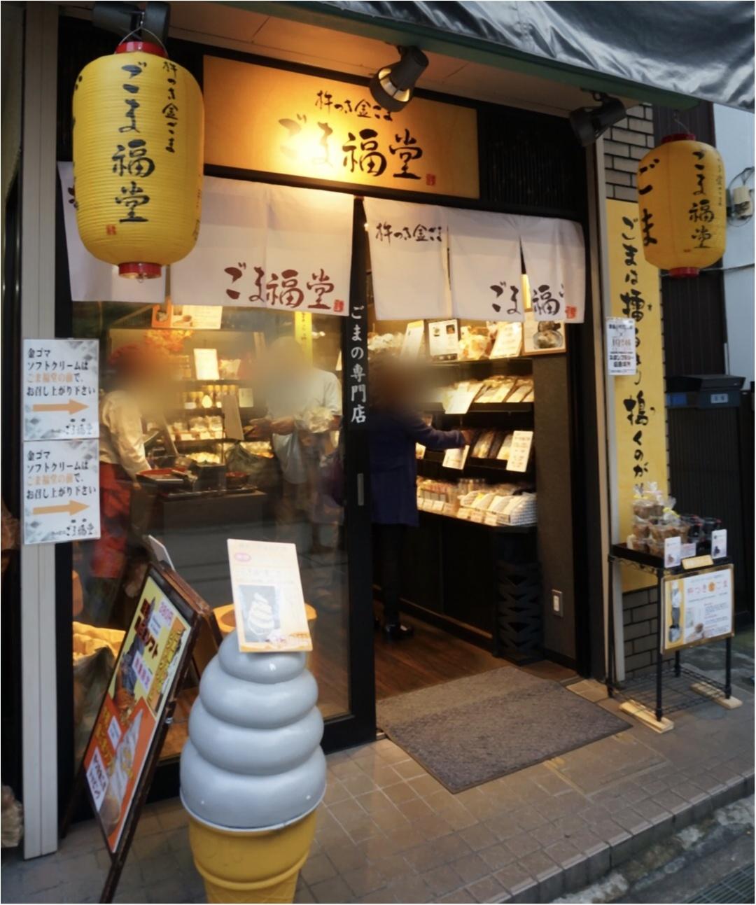 《ごまの香りに誘われて♡》鎌倉小町通りを散策中に見つけた珍しいごま専門店【ごま福堂】で食べれるソフトクリームがやばい( ´艸`)‼︎_1