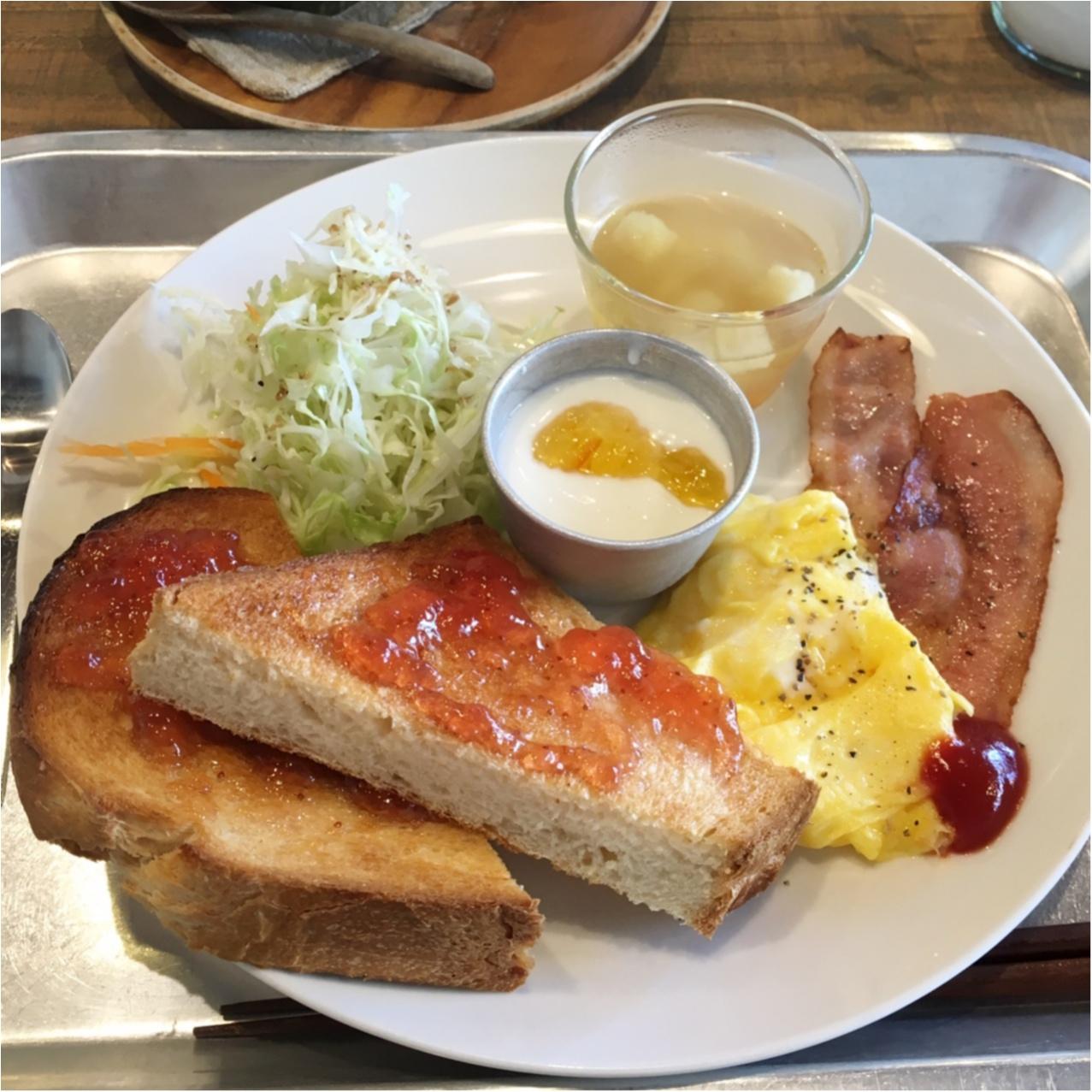 一日の始まり ♪ ナチュラルカフェでほっこり朝ごはん♡_5