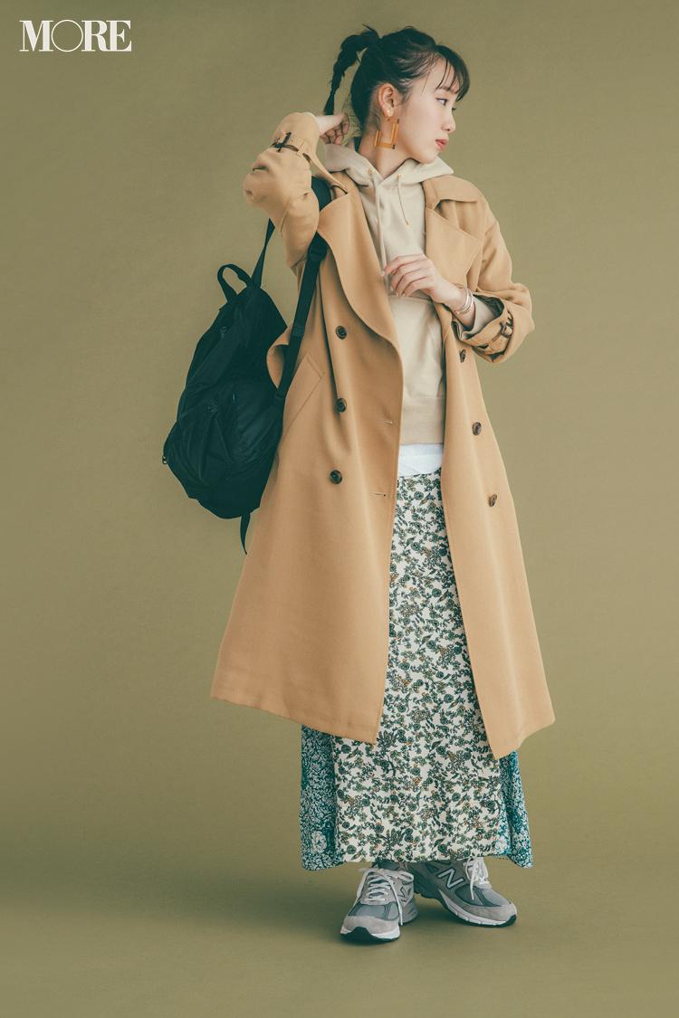 ベージュコーデ特集(20代後半女子向け)- 春におすすめのワンピースやスカート、靴などのコーディネートまとめ_23