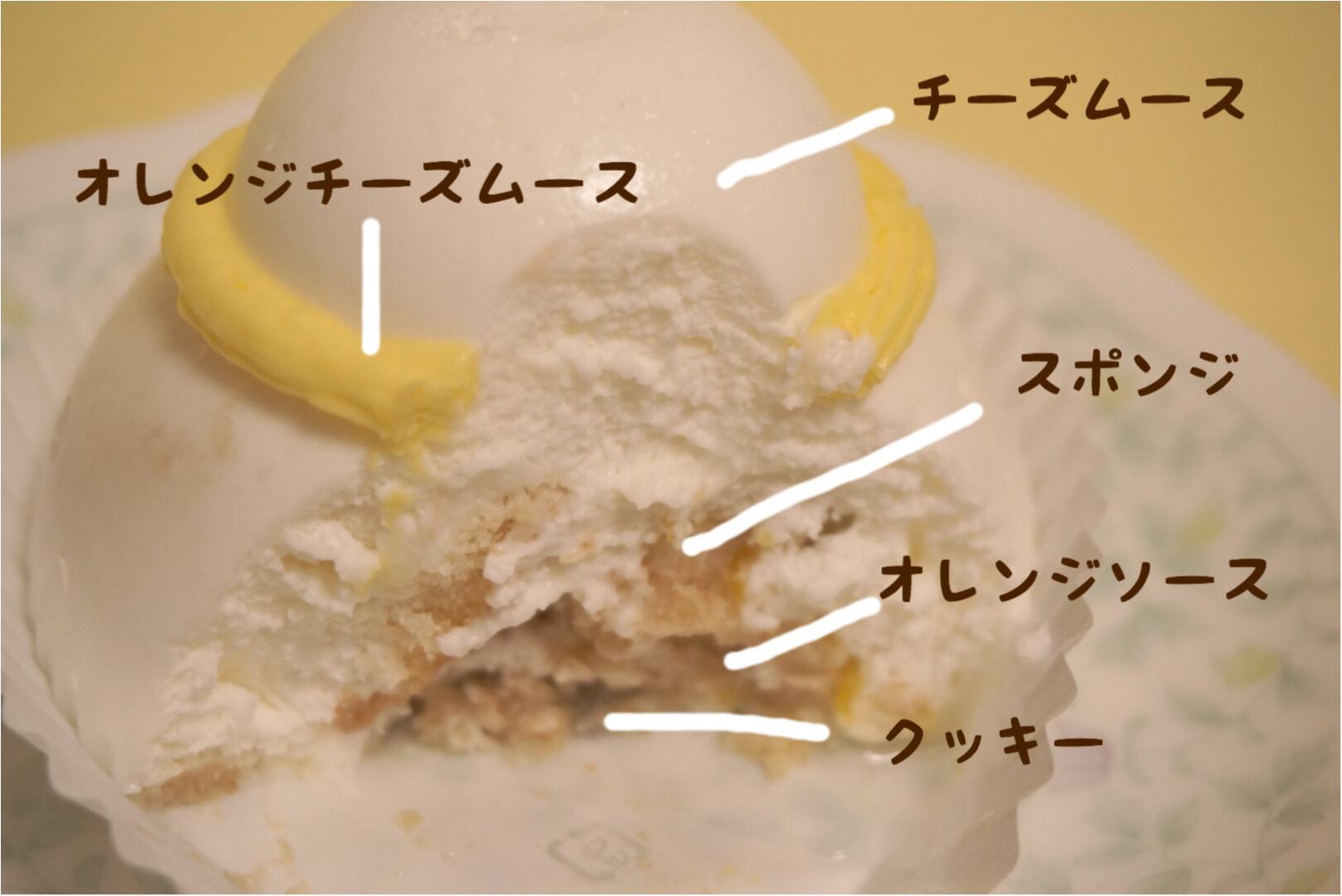 《カメラ必須‼︎》食べるのがもったいない‼︎セブンイレブンのトナカイ&雪の子ケーキが可愛すぎるっ♡_5