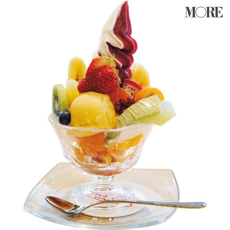 『フルーツカフェタマル』の「フルーツパフェ」は、広島女子旅にハズせない♡  食べて幸せ、写真に撮って超可愛い♡♡ _2
