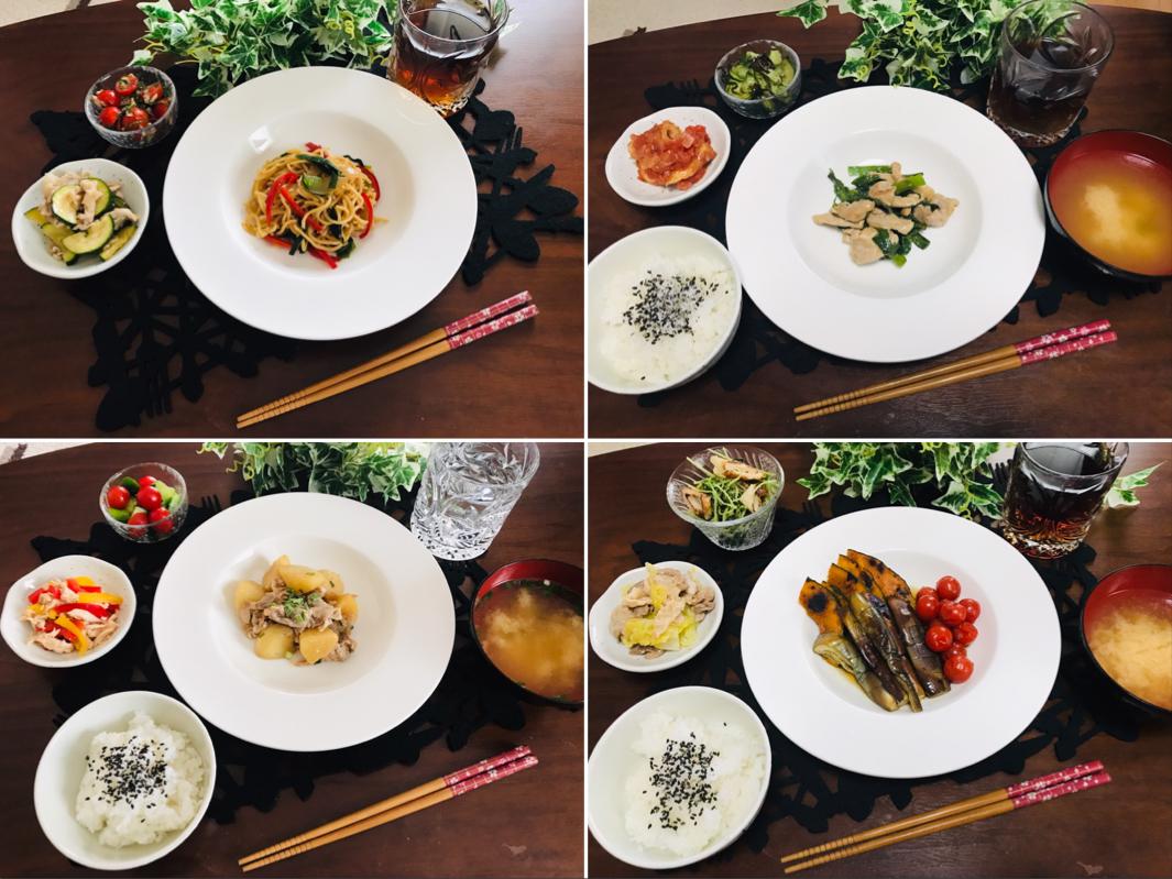 【今月のお家ごはん】アラサー女子の食卓!作り置きおかずでラクチン晩ご飯♡-Vol.4-_1