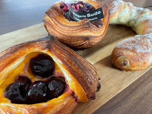 Boulangerie Sudoのパン