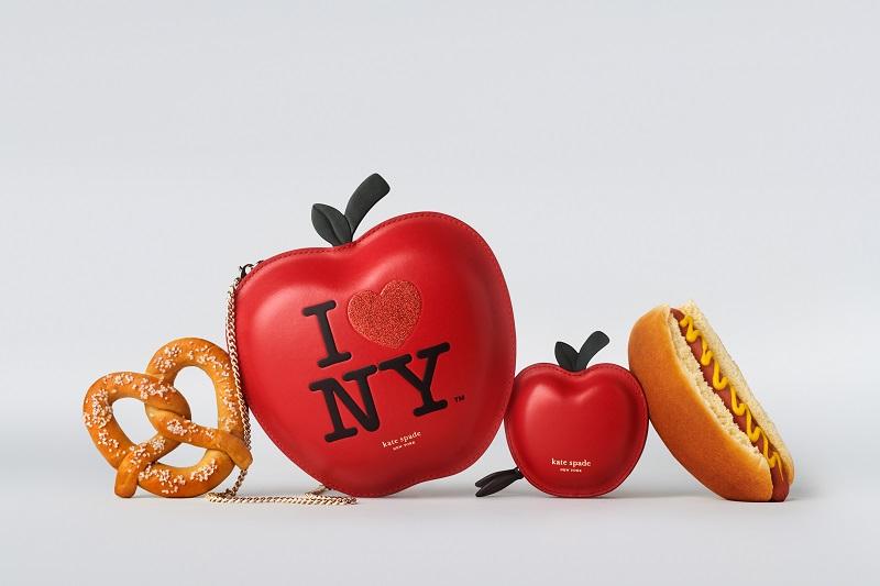 ケイトスペードの新作コレクション、りんご型のバッグ