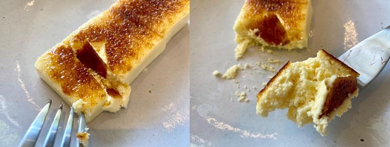 「ブルーボトルコーヒー 渋谷カフェ」限定メニューのチーズケーキ