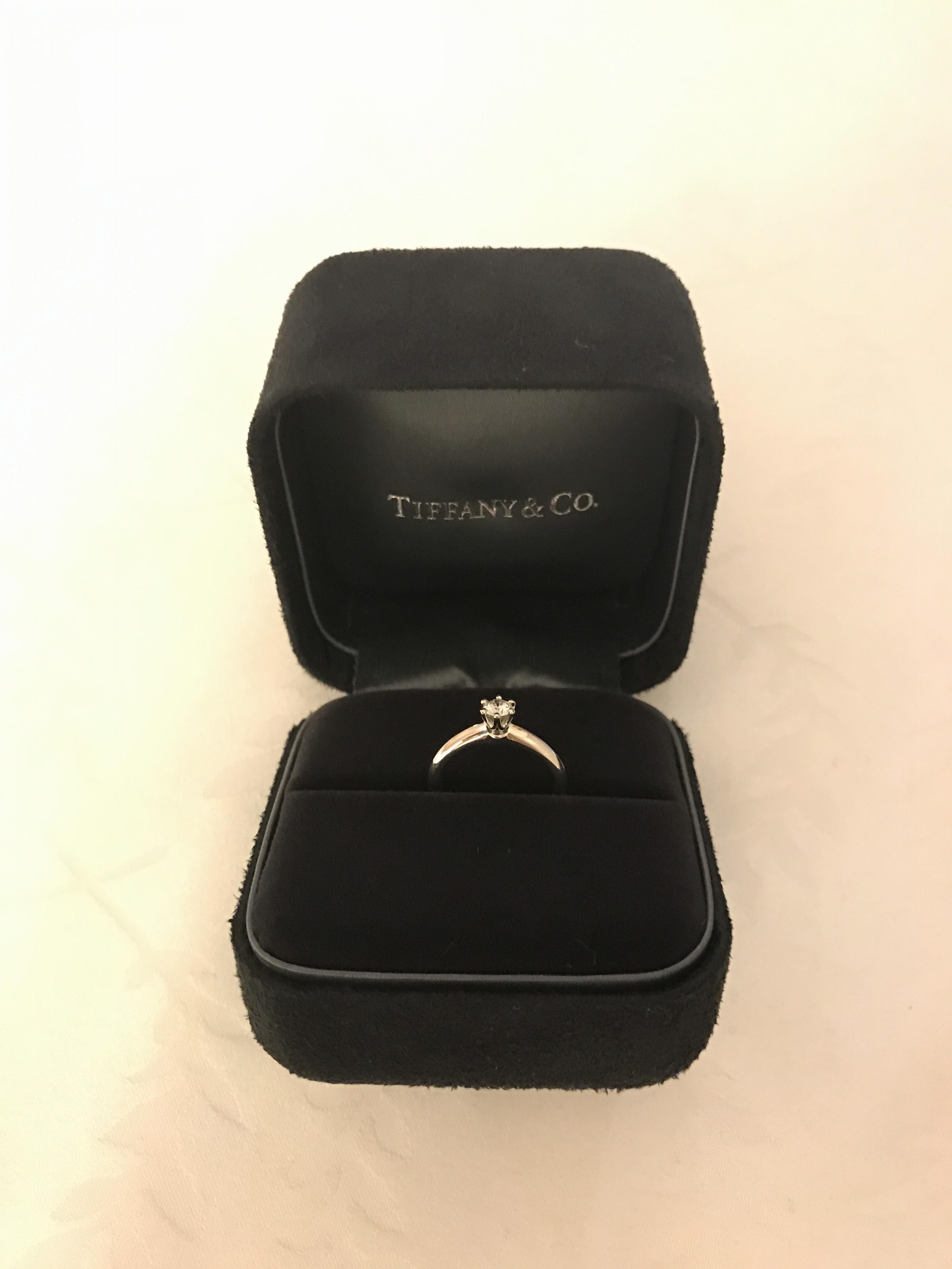 婚約指輪は憧れのティファニー♡~Tiffany & Co.~_1