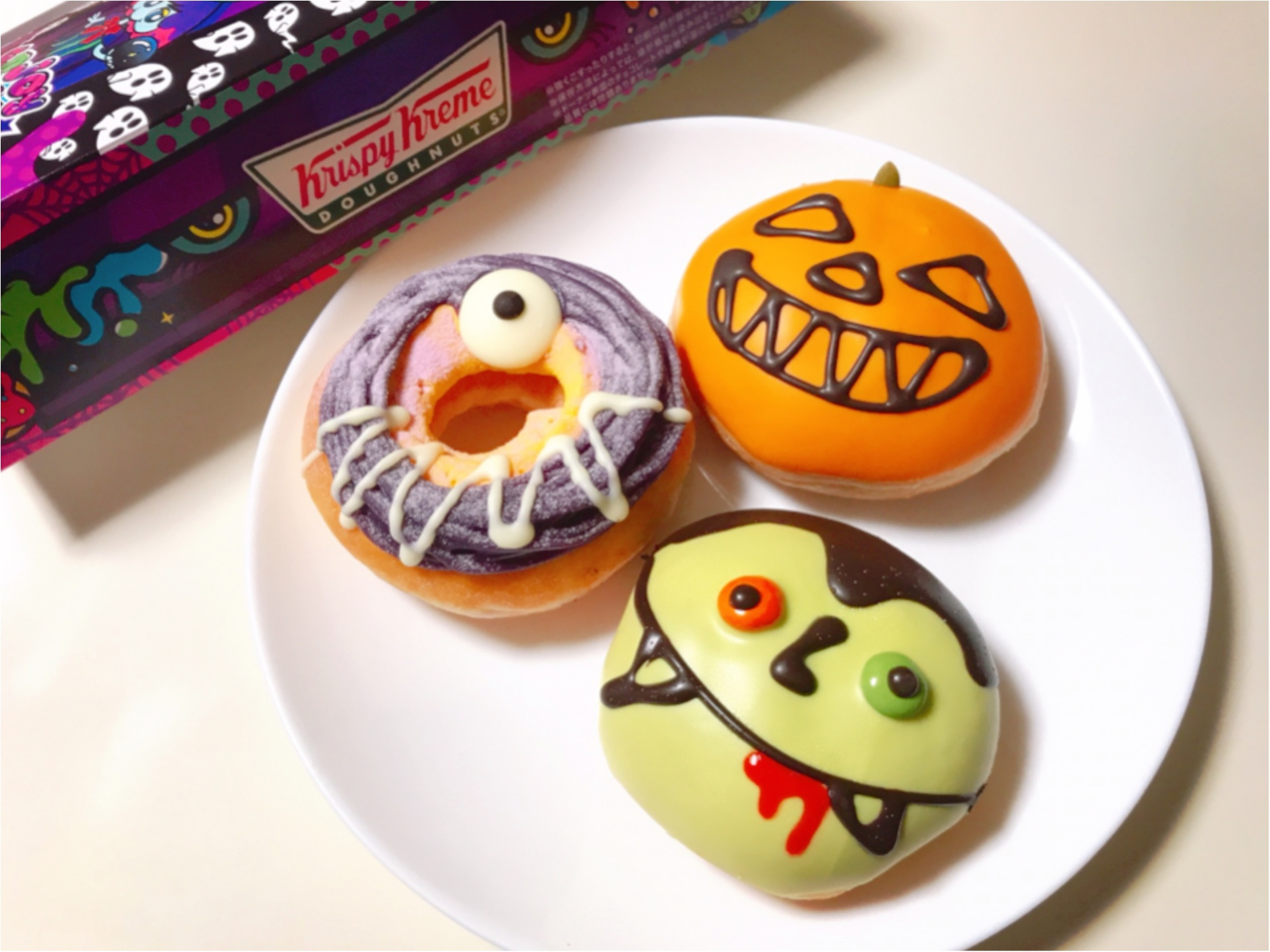 ハロウィンパーティーで写真映え間違いなし!可愛くて美味しいドーナツ♡_1