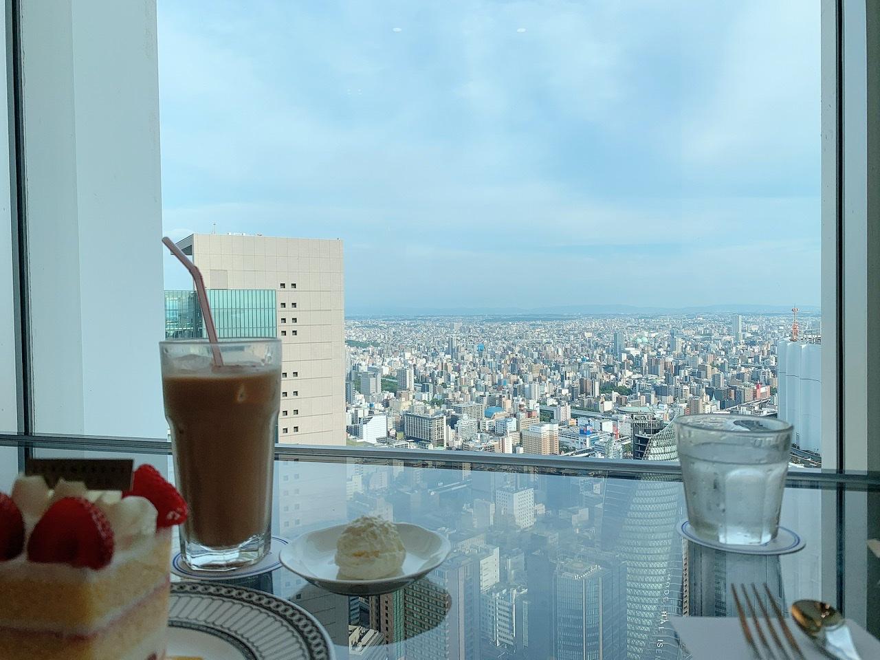 【名古屋一景色の良いcafe:カフェ ド シエル】in高島屋の51階_1