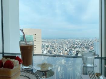 【名古屋一景色の良いcafe:カフェ ド シエル】in高島屋の51階