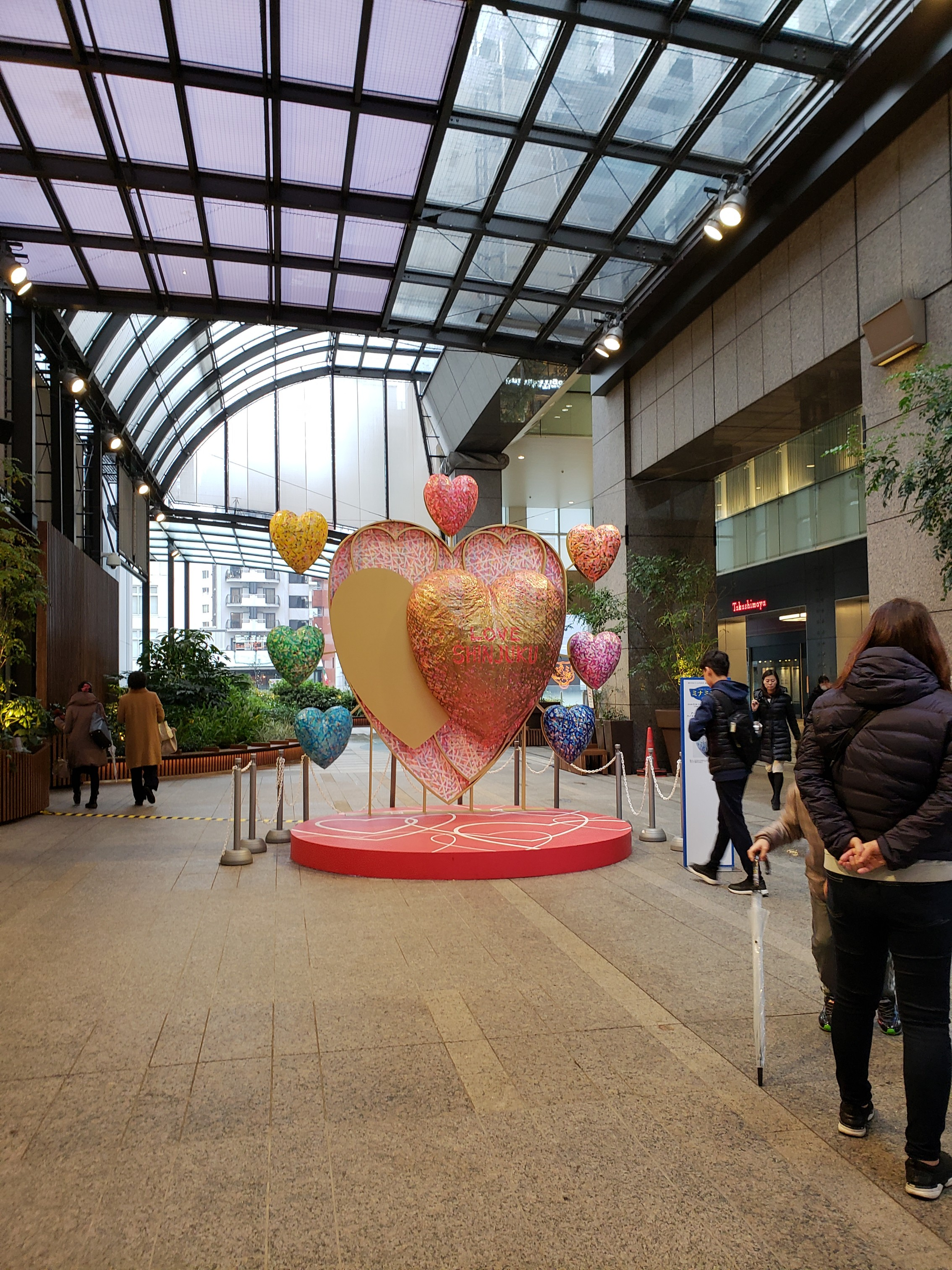【新宿タカシマヤ】バレンタインまであと1週間!アムール・デュ・ショコラへいってきた♡_1