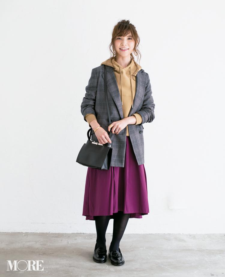 【読者変身】無難、甘すぎ、いつも同じ……きれい色スカートのお悩み、スタイリスト高野さんが解決します☆ 記事Photo Gallery_1_16