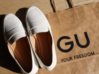 《売り切れ前にゲットしたい❤️》【GU】¥990白ローファーが使える!☻
