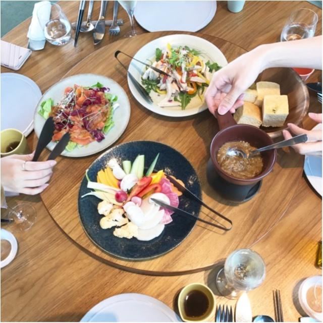 今、話題の野菜にこだわったレストラン!【CROSS TOKYO】でランチを食べてきました♡_1